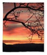 Sunrise Sonata Fleece Blanket
