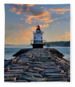 Sunrise Spring Point Ledge Fleece Blanket