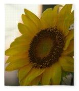 Sunrise Sunflower Fleece Blanket