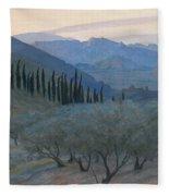 Sunrise Umbria 1914 Fleece Blanket