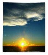 Sunset @ Chesapeake Bay-2 Fleece Blanket