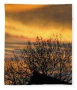 Sunset 4 Fleece Blanket