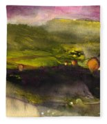 Sunset 50 Fleece Blanket
