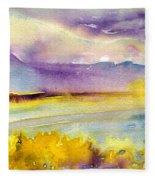 Sunset 52 Fleece Blanket