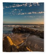 Sunset At Crystal Cove 12 Fleece Blanket