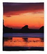 Sunset Bay Sunset 2 Fleece Blanket