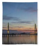 Sunset Colors Fleece Blanket