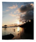 Sunset Dreams Fleece Blanket