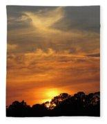 sunset II Fleece Blanket