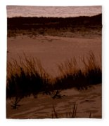 Sunset In The Dunes Fleece Blanket