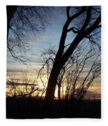 Idaho Sunset 1 Fleece Blanket