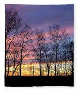 Sunset Of The Century Fleece Blanket