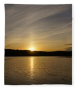 The End Of A Great Day Fleece Blanket