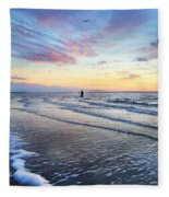 Sunset Paradise Jekyll Island  Fleece Blanket