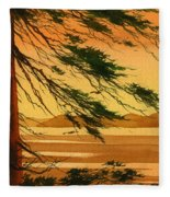 Sunset Splendor Fleece Blanket