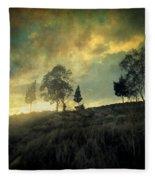 Sunset Trip II Fleece Blanket