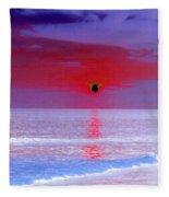 Sunsets On The Water - Photopower 01 Fleece Blanket
