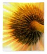 Sunshine Daisy Fleece Blanket
