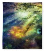 Sunshine Forest Fleece Blanket