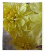 flower - Sunshine in Petals Fleece Blanket