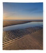 Sunshine On The Beach Fleece Blanket