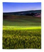 Sunshine On The Palouse Fleece Blanket