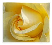 Sunshine Rose Fleece Blanket