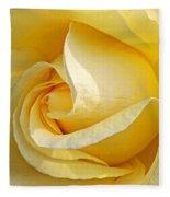 Sunshine Rose Fleece Blanket