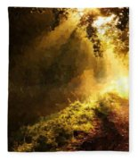 Sunshine Fleece Blanket
