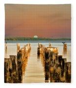 Sunshine State Sunset Fleece Blanket