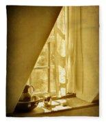 Sunshine Through The Window Fleece Blanket