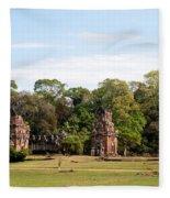 Suor Prat Towers 01 Fleece Blanket