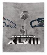 Super Bowl Xlvlll Fleece Blanket