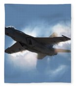 Super Hornet Shockwave Fleece Blanket