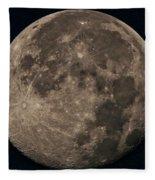 Super Moon 3628 August 2014 Fleece Blanket