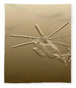 Super Stallion - Digital Art Fleece Blanket