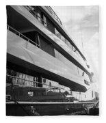 Super Yacht Fleece Blanket