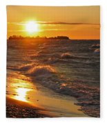 Superior Sunset Fleece Blanket