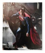 Superman Fleece Blanket