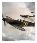 Supermarine Spitfire Mk I Fleece Blanket