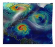 Superstorm Sandy Fleece Blanket