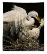 Suppertime Fleece Blanket