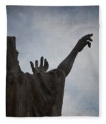 Supplication Fleece Blanket