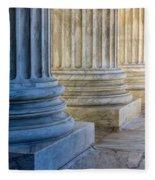 Supreme Court Colunms Fleece Blanket