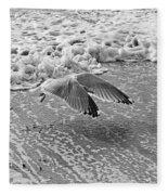 Surf And Wings Fleece Blanket