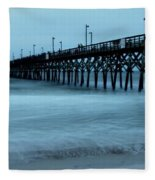 Surf City Pier Soft 2 Fleece Blanket
