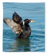 Surf Scotter Male Wings Fleece Blanket