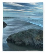 Surf Statues Fleece Blanket