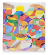 Abstract Dance Party  Fleece Blanket