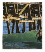 Surfer Dude 1 Fleece Blanket